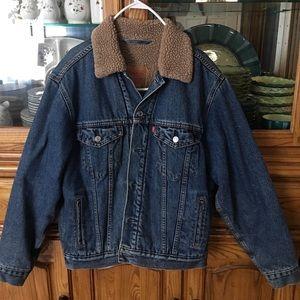 Levi's Mens Lined Denim Jacket